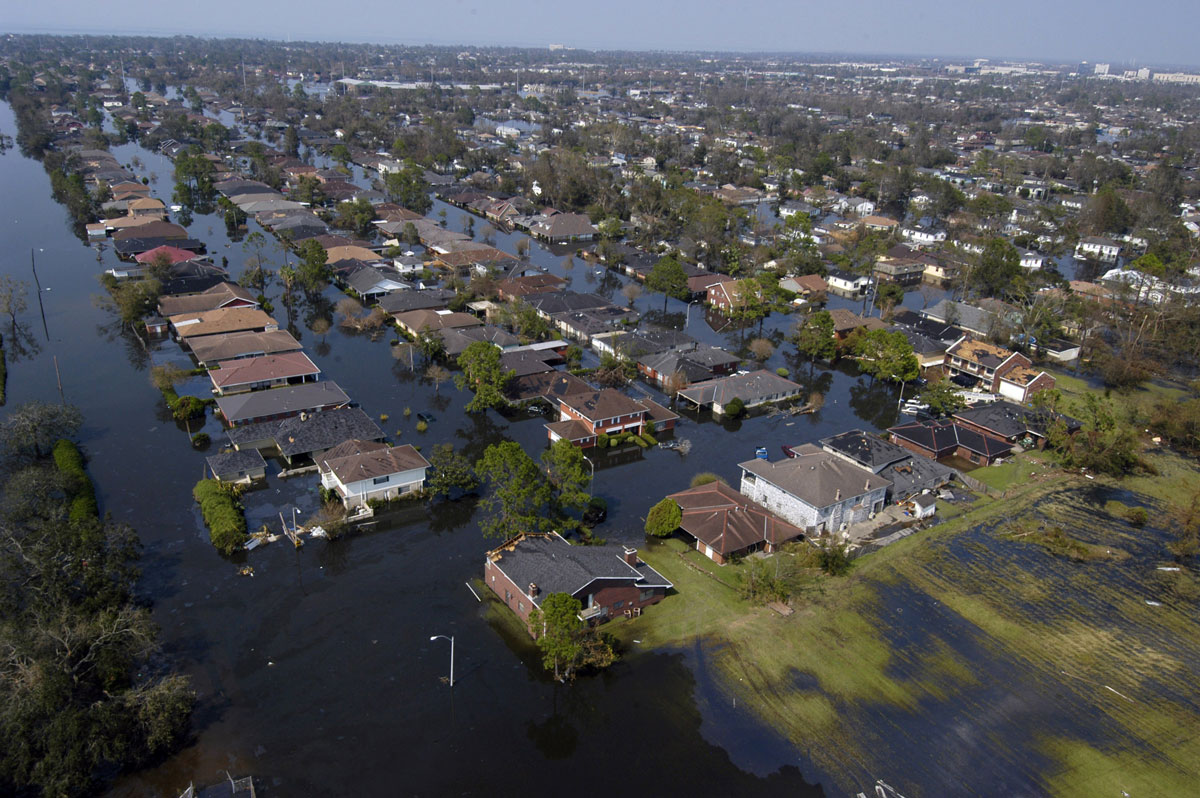 Flood during Hurricane Katrina
