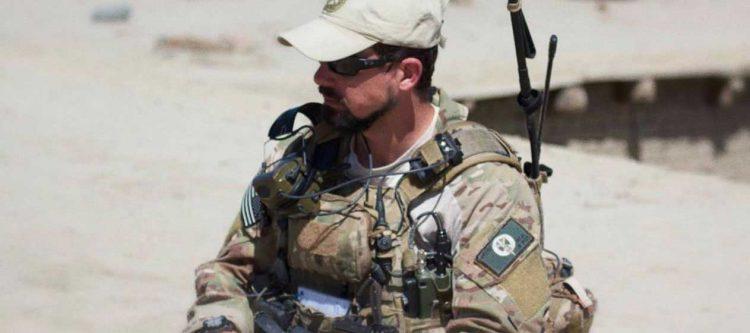 JTAC soldier in field