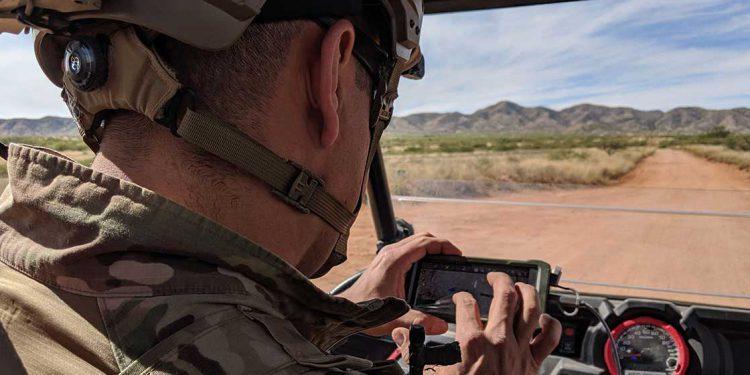 ATAK operator near border