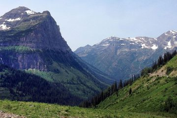 Image of mountain range in canada