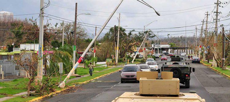 Puerto Rico Hurricane distruction