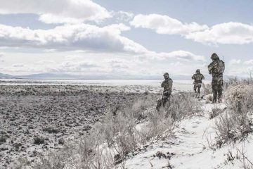 Soldiers operating off the grid in austere environment