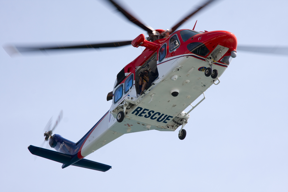 Helitack helicopters are aerial assets used widely in emergency response and rescue missions.