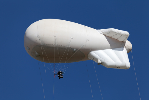 Aerostats are aerial assets already widely in use by military and Border Patrol organizations.